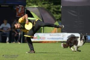 פריזבי עם כלבים מרכז אופק